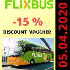 Flixbus 15% off voůÇher APP ⚡️FAST DELIVERY⚡️24/7⚡️ works on SINGLE TICKET ALSO