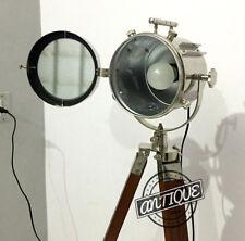 LED Standard Screw Bedroom Night Dim Light Spotlamp Adjustable Tripod Wood Stand