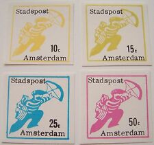Stadspost Amsterdam 1969 - Serie Brievenbesteller ongetand