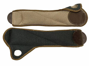 Reebok Thumb-lock Wrist Weight Set- Comfort lock- 2 lbs Each- Brown/ Black