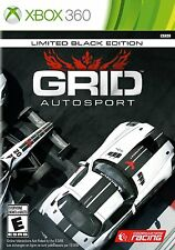 *NEW* Grid Autosport Limited Black Edition - XBOX 360