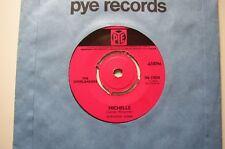 "THE OVERLANDERS: Michelle (Pye)  1965 7"" single"