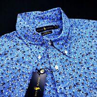 Ralph Lauren Polo Classic Fit Floral Print Stretch Cotton Sport Shirt XL $150