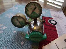 Vintage PREST O LITE  R-412 oxygen Regulator (D)