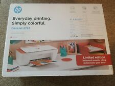 HP Deskjet 2732 Printer Wireless All in One INK INCLUD Limited Color TerraCotta