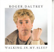 "ROGER DALTREY  Walking In My Sleep PICTURE SLEEVE (THE WHO) 7"" 45 rpm record NEW"