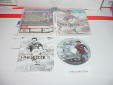 FIFA SOCCER 13 game complete w/ Manual for Sony Playstation 3 PS3