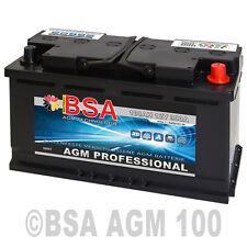 AGM Batterie Solarakku 100AH Versorgungsbatterie Solarbatterie AGM GEL 12V