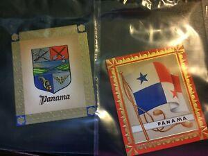 1936 AURELIA OLYMPIC FLAG CIGARETTE CARDS, 1936 BERLIN GAMES, PANAMA