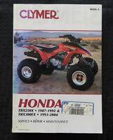 1987-2004 HONDA TRX250X TRX300EX ATV SERVICE REPAIR MAINTENANCE MANUAL VERY NICE