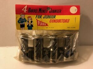 4 Four Barrel Money Changer For Junior Conductors Flare Toy #8-2541 Japan Sealed