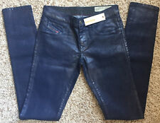Diesel Livier Super Slim Jegging Low Waist Wash 0807V Stretch Size 27