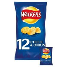 Walkers Cheese And Onion Crisps 12 Pack