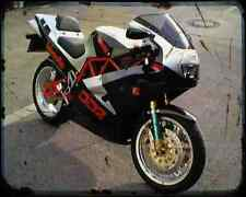 Bimota Db2 Ef 97 1 A4 Metal Sign Motorbike Vintage Aged