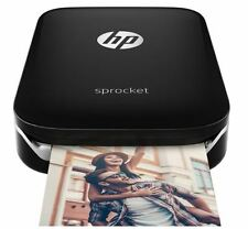 HP X7N08A - Sprocket Pocket Size Portable Wireless Mobile Photo Printer - Black