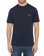 Original Penguin Pin Point Embroidery T-shirt in Navy