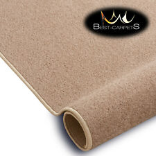 SOFT & CHEAP & QUALITY CARPETS Feltback ETON beige Bedroom Large RUG ANY SIZE