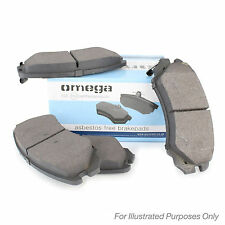 New Toyota RAV4 MK2 2.0 D-4D 4WD Genuine Omega Rear Brake Pads Set