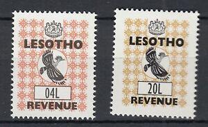 Lesotho Revenue Stamps