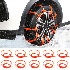 20X Anti-Rutsch Schneekette Schnee Eis Kette Anfahrhilfe Reifenkette Auto PKW