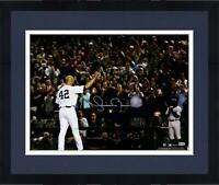 "Frmd Mariano Rivera NY Yankees Signed 16"" x 20"" Tip of the Cap Photo"