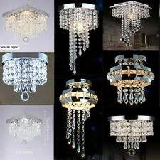 LED Kristall Deckenleuchte  Kronleuchter Deckenlampe Hängeleuchte Pendelleuchte