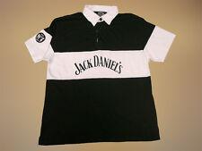 Vintage 1996 Jack Daniels Nr7 (M) POLO SHIRT Cotton Jersey Maglia Camisa Soccer