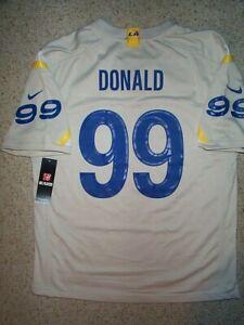 *IRREGULAR* Los Angeles Rams AARON DONALD nfl NIKE Jersey YOUTH KIDS BOYS (xl)