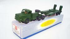 DINKY TOYS 660 TANK TRANSPORTER BOXED EXCELLENT CONDITION