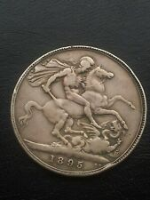 1895 SILVER CROWN QUEEN VICTORIA (UNITED KINGDOM)