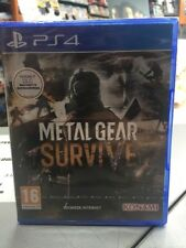 Metal Gear Survive Ita PS4 NUOVO SIGILLATO
