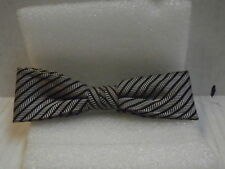 Vintage Men's Clip On 1940's - 50's Bow Tie 04