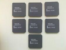 Intel R80186 80186 white print Vintage CPU GOLD, NOS