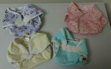 Lot of 4 Thirsties & Mommy's Touch Sz Medium and Large DIAPER COVERS Roses Girls