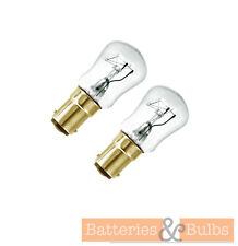 15w Clear Pygmy Bulb SBC Small Bayonet Cap Lamp 240v | Pack Of 2