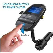 Nulaxy KM20 FM Transmitter Bluetooth FM Handsfree Car MP3 Player LCD