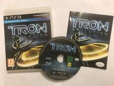 PLAYSTATION 3 PS3 VIDEO GAME TRON EVOLUTION +BOX & INSTRUCTIONS COMPLETE PAL