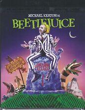 BEETLEJUICE 4K ULTRA HD & BLURAY & DIGITAL SET with Michael Keaton & Geena Davis