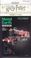 Fascinations Metal Earth ICONX Harry Potter HOGWARTS EXPRESS 3D Steel Model Kit