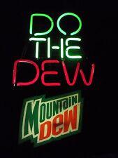 "Mountain Dew 24"" x 24""  neon sign Man Cave/Bar Advertising"