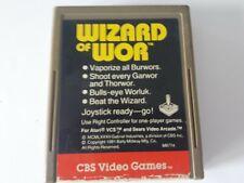 Atari 2600 Wizard Of Wor 1982 CBS Cartridge Only