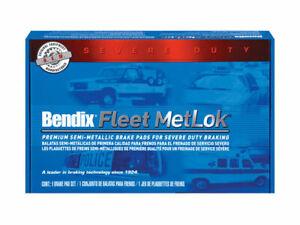 Front Bendix Brake Pad Set fits Chevy Caprice 1969-1996 76QWVV