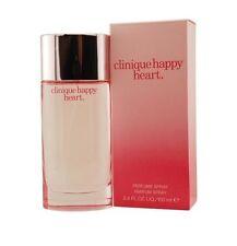Clinique Happy Heart Women 3.4 OZ 100 ML Perfume / Parfum Spray Nib Sealed