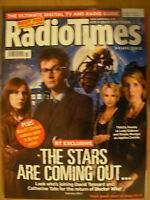 RADIO TIMES DOCTOR WHO 5th APRIL 2008 THE STARS ARE OUT 4 OF 4 SPECIAL COVERS