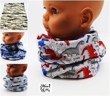 Kids Boys Scarf Cotton Chimney Scarves Shawl Cartoon Scarf