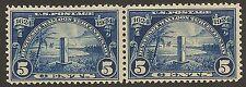 U.S. UNUSED 616   PAIR         MNH        (P384)