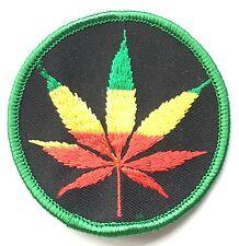 Bob Marley - Genus Leaf - Musician - Jamaican - Embroidered Patch (a519)