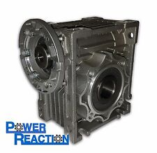 Worm right angle gearbox / speed reducer / size 63 / ratio 100:1 / 71B14 / 30mm