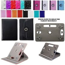 """Universal 360°Rotating Cover Case Stand Fit Archos 101E Neon 10.1"""" Tablet"""