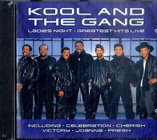 KOOL AND THE GANG Ladies Night - Greatest Hits Live CD Sigillato